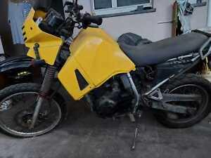 Motorrad KLR650 zu verkaufen