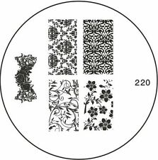 Moyou Stamping Schablone Stempel  Nails Stamp # 220