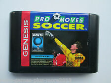 Pro Moves Soccer (Sega Genesis, 1993) Cartridge Only--Tested (NTSC-US-CA)