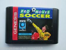 Pro Moves Soccer (Sega Genesis, 1993) Cartridge Only--Tested (NTSC-US-CA)