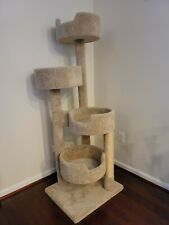 Cat scratch tree tower