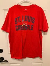 Fanatics St Louis Cardinals #1 Dad T Shirt XL MLB
