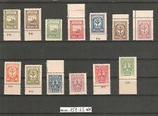 Memelgebiet Mi-Nr.: 151-63 postfrischer Luxussatz ohne jegliche Signaturen