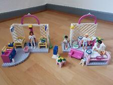 2 LEGO Belville Sets (5874 & 5875) Krankenhaus Babystation Krankenzimmer