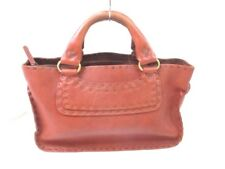 Authentic CELINE Boogie Bag Brown Leather Handbag w/Dust Bag