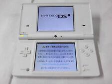 X4814 Nintendo DSi console White Japan w/stylus pen