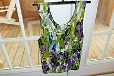 Nice Women's Clothing Christopher Banks Pretty Top Sleeveless Tank Type Sz. XL