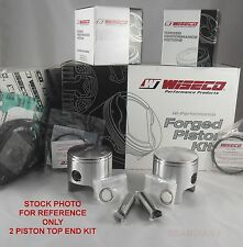Wiseco WK1254 Top End Piston Kit 1.50mm Over Bore 77.50mm Fits Sea-Doo 580