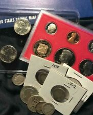US Coin Grab Bag w/ Silver BU & Proof Included ~ No Reserve ~ $55 -$75 Value!