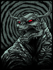 Godmachine Who Brought the Dog? art print poster Ghostbusters gallery 1988 mondo
