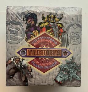 WILDSTORMS IMAGE UNLIMITED CCG TCG Starter Deck Display 12 decks 60 cards