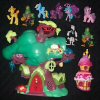 My Little Pony Lot Friendship is Magic Golden Oak Library Treehouse Playset etc