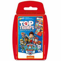 Top Trumps PAW Patrol Serie Quartettspiel Kartenspiel Quartett Karten Spiel