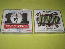 101 Indie Classics & Alternative 120 Original Hits (CD1 Missing) 2 Albums 9 CDs