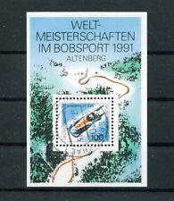 Bund Block 23 -WM Bobsport - rundgestempelt