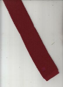 Pancaldi-Authentic-100% Wool-Made In Italy-Knitted Tie-P2-Slim Fit Men's Tie