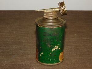 VINTAGE CARBIDE TOOLS PARSONS DIAMOND PRODUCTS STADOLL LAPPING OIL CAN *EMPTY*