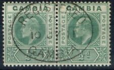 Used Edward VII (1902-1910) Gambian Stamps