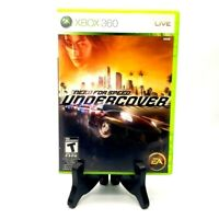 Need For Speed Undercover Microsoft Xbox 360 Complete Tested Very Good EA