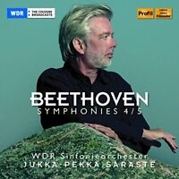 WDR Sinfonieorchester - Beethoven: Symphonies 4 / 5 [WDR [CD]