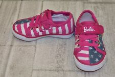 **Keds Barbie AC Casual Shoes - Toddler Girls Size 4 M - Pink/Blue