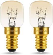 Lot de 2 Ampoules spéciale pour four Culot E14 300° 25W