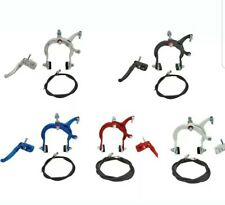 "1 NEW ANODIZED HAND BRAKES FOR 20/""BMX BICYCLES COMES COMPLETE,PIC COLOR,MX"