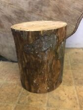 Large Rustic Log Stump/trunk, without bark for stool making or wedding feature