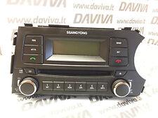 2015 Ssangyong Korando CD Player Audio Stereo Phone Head Control Unit 8913032110