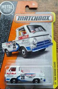 Matchbox '66 Dodge A100 Pickup Truck  - long card