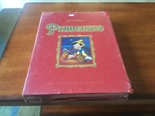 Walt Disney's Pinocchio Masterpiece Exclusive Deluxe VHS Video Edition BRAND NEW