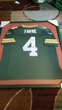 Brett Farve Green Bay Packers SIGNED jersey COA Framed
