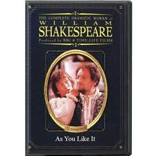 BBC William Shakespeare The Dramatic Works Comedy As You Like It DVD Time-Life