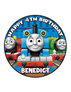 Thomas The Tank & Friends Edible Cake Image Personalised Birthday Decoration
