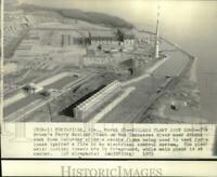 1975 Press Photo Tennessee Valley Authority Brown's Ferry Nuclear Power Plant
