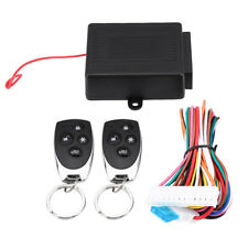 Car Door Lock Keyless Entry System Remote Control Kit Central Locking Set ATF
