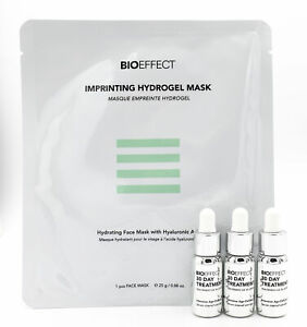BIOEFFECT Total Rejuvenation Skin Care Set EXP 10/22 NEW Damaged Box