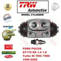 FOR FORD FOCUS ST170 RS 1.4 1.8 Turbo Di TDCi TDDi 1999-2005 REAR WHEEL CYLINDER