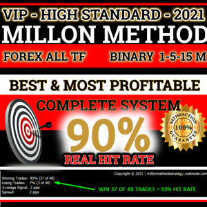 Most Profitable Forex Binary Millon Method Traders Trading System Strategy Signa