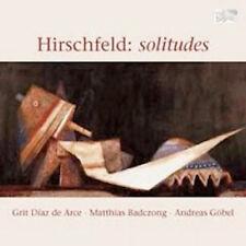 solitudes - Solowerke für Stimme, Klavier, Klarinette von C. René Hirschfeld
