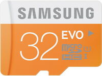 SAMSUNG EVO 32GB Micro SD SDHC UHS-I Class 10 Memory Card 48MB/s