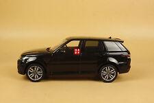 1:18 kyosho Resin Car Model Range Rover Sport SVR BLACK (doors can't open)
