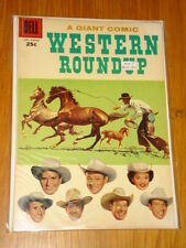 WESTERN ROUNDUP GIANT #17 VF (8.0) DELL COMICS MARCH 1957