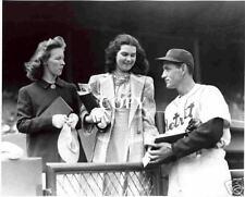 Detroit Tigers : '35 Gehringer & Fans Picture BB28