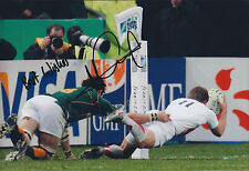 Mark CUETO Signed Autograph 12x8 Photo AFTAL COA RUGBY England Sale SHARKS