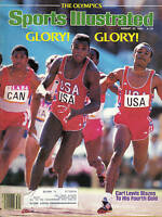 1984, (8/20) Sports Illustrated, Track, magazine, Carl Lewis, Olympic Games