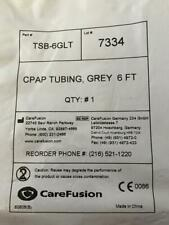 CAREFUSION  #TSB-6GLT CPAP Flexible Tubing Grey 6 Ft. NEW