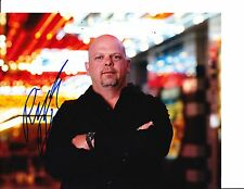 PAWN STARS RICK HARRISON SIGNED ON THE STRIP 8X10