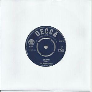 "The Moody Blues - Go Now! 7"" Vinyl Single 1964"