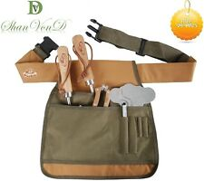 Garden Tool Belt Handy Cuttings Bag Sturdy Pockets Adjustable Apron 34 x 34cm UK